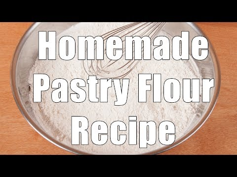 How to make Pastry Flour using All-purpose and Cake flour