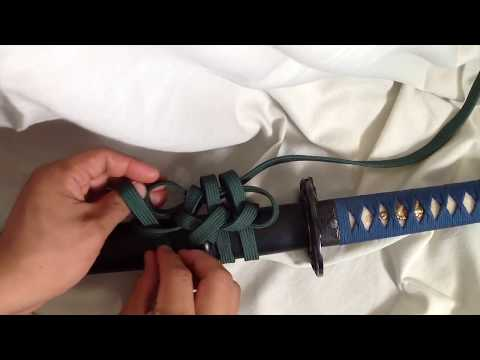 How To Tie A Ronin Knot - Sword Presentation