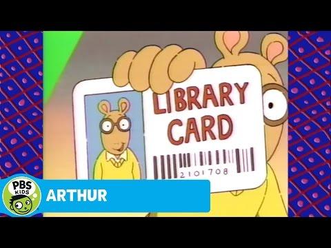 ARTHUR: Library Card Song!