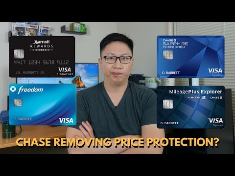 Chase Removing Price & Return Protection?