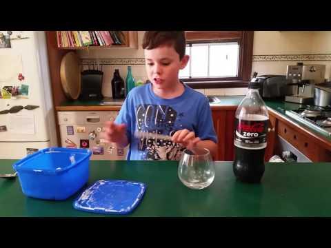 Icecream coke spider
