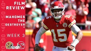 Download How Patrick Mahomes Continues to Destroy Defenses | NFL Film Review Video