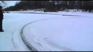 Russian Ice Circle Spinning