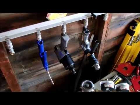 Air Tool Hanging Storage