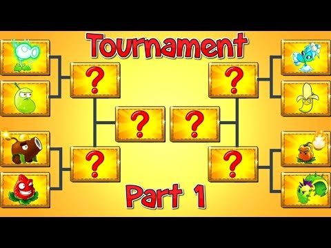 Tournament Plants vs Zombies 2 Mod Top Plants in Competition Part 1 - PVZ 2 Primal Gameplay