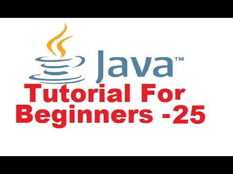 Java Tutorial For Beginners 25 - Inheritance in Java