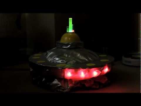 Frankie's UFO Costume is ready