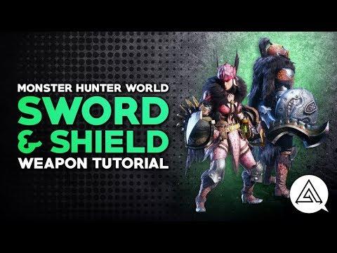 Monster Hunter World | Sword & Shield Tutorial