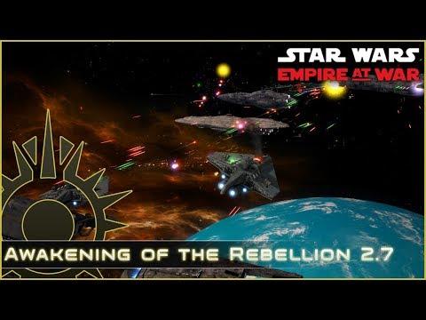 Battle of Mon Calamari - Ep 8 - Awakening of the Rebellion 2.7 - Star Wars Empire at War Mod