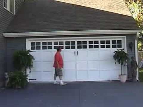 Quick Easy Garage Door Make Over