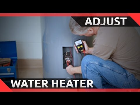 How to Change the Temperature on an Electric Hot Water Heater [EASY]