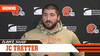 JC Tretter: The team wants to keep fighting  | Player Sound