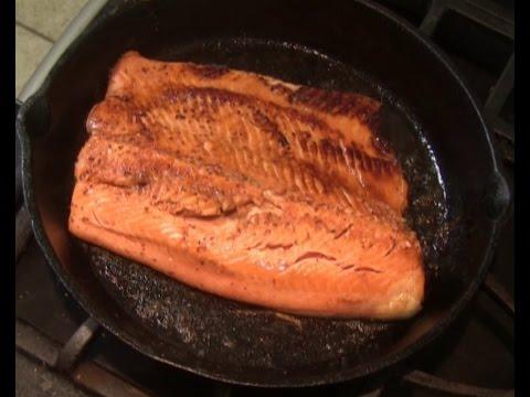 Balsamic Glazed Cast Iron Salmon
