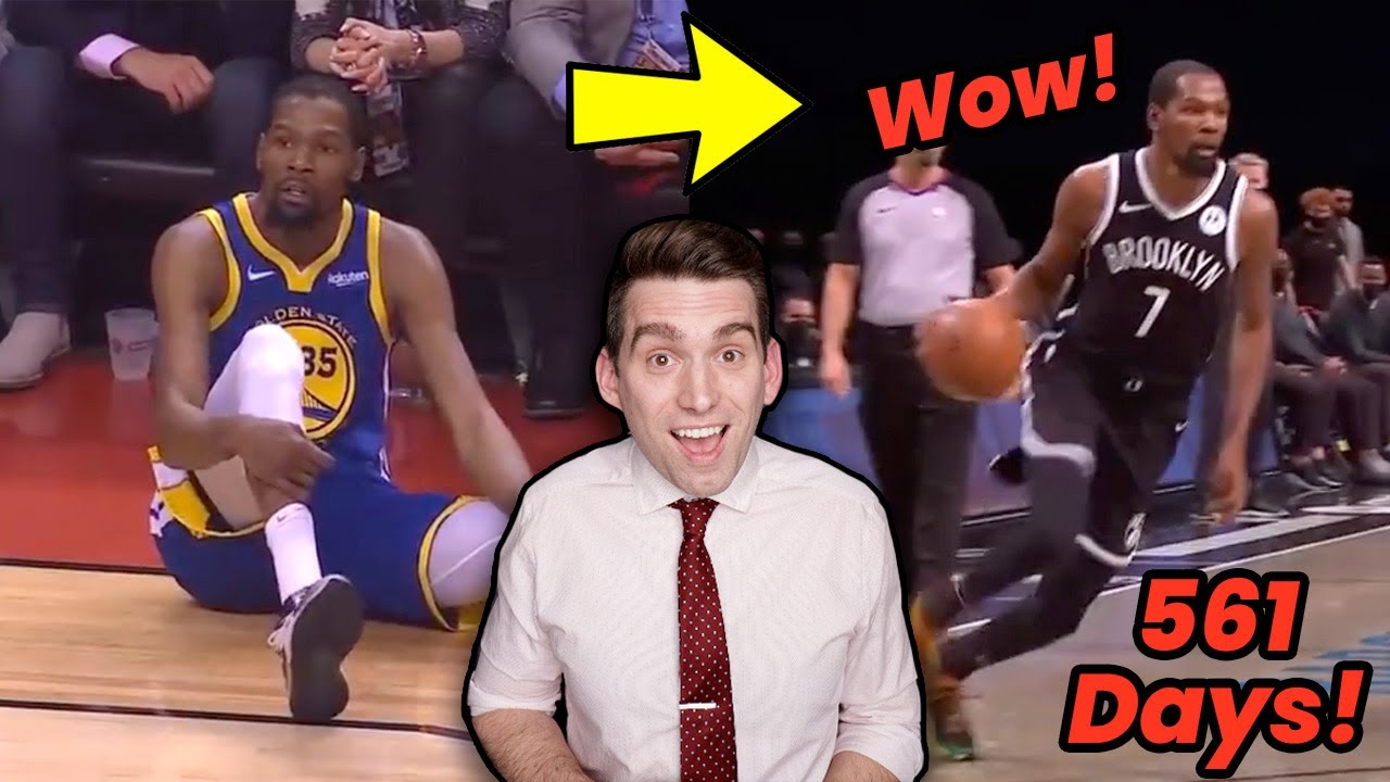 Kevin Durant is BACK! Doctor Reacts to Durant's NBA Return and Why He Looks UNSTOPPABLE!