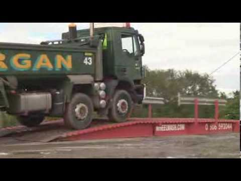 WheelWash - Dry Ramp System