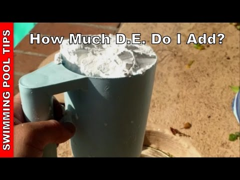 How Much D.E. (Diatomaceous Earth) do I Add?