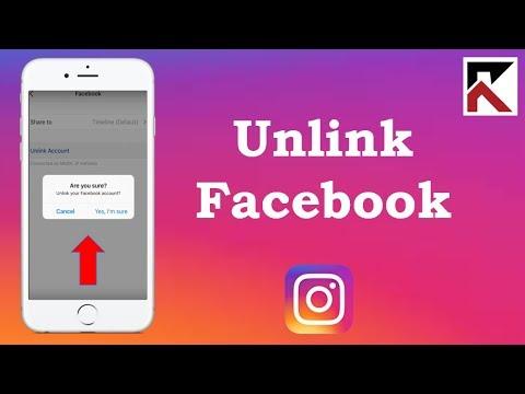 How To Unlink Facebook From Instagram iPhone