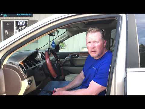 Buick Enclave Instrument Cluster Removal Procedure by Cluster Fix