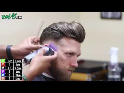 How to Fade to Long Hair on top! Bald Fade