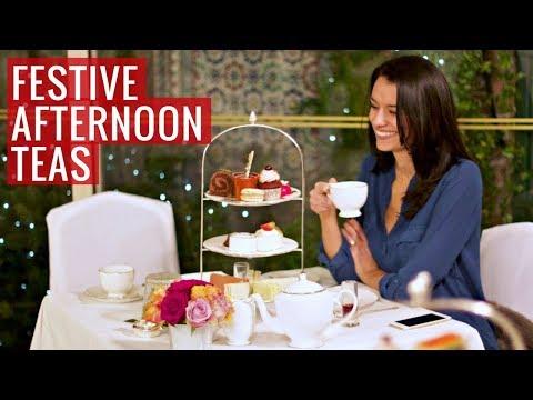 3 festive afternoon teas in London