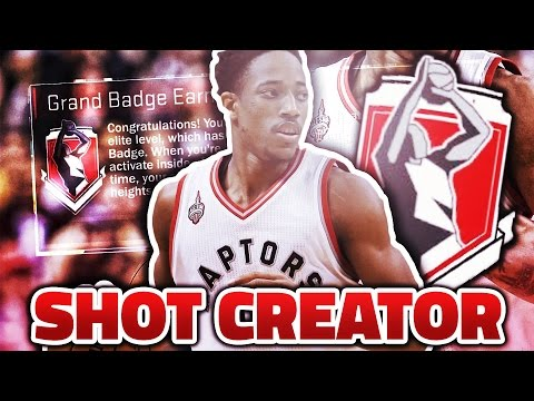 How to get Shot Creator Grand Badge! *UPDATED* (Fastest Way) (After Patch 12) (NBA 2K17)