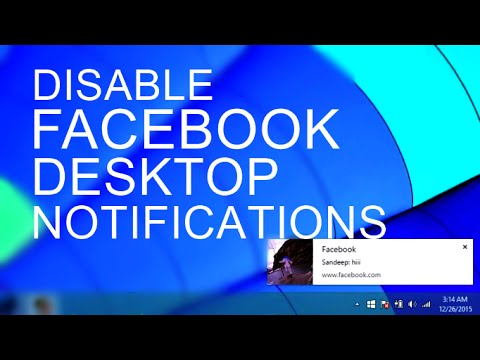 How to Disable Facebook Desktop Notifications on Chrome & Firefox
