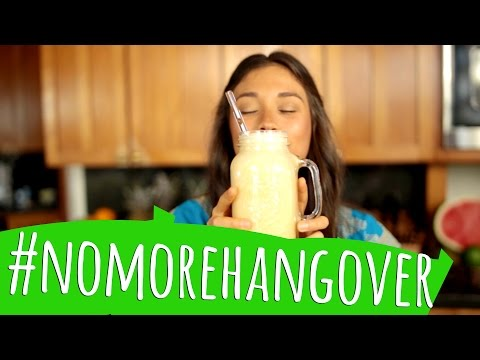 HANGOVER SMOOTHIE! Natural Remedy