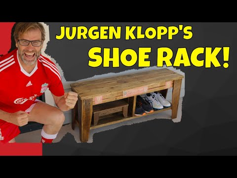 Jurgen Klopp Does DIY! How to Build a Shoe Rack for Jurgen's Football Boots.