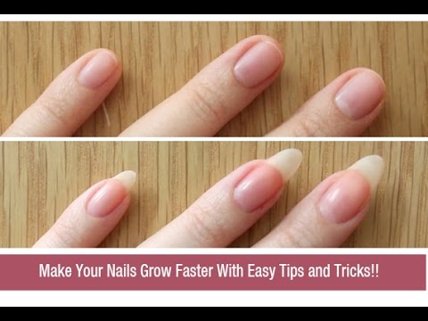 How to Grow Nails Faster Naturally? | DIY Nail Growth Recipe