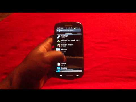Low Storage Notification on Samsung Galaxy S3