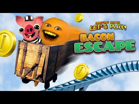 Bacon Escape: Going Hog Wild! 🐖💨 [Annoying Orange Plays]