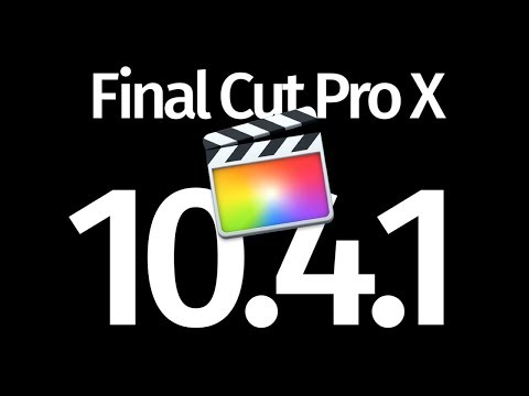 How to Update to Final Cut Pro X 10.4.1