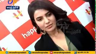 Celkon's Happi Mobile Showroom at Anantapur | Opened by Actress Samntha