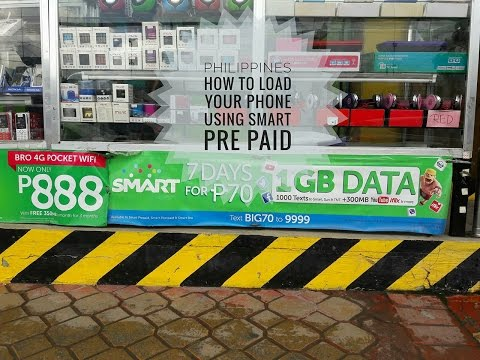 Philippines - How to Add Pre Paid Smart Load to Your Unlocked Cell Phone