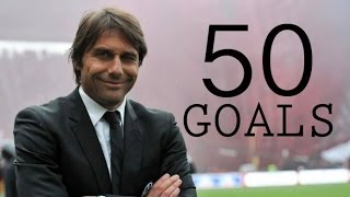Conte`s Chelsea FC - First 50 Goals - All Goals In First Half 2016/17 - HD