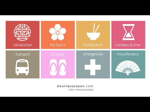 The most essential Japanese words & phrases for travelers to Japan