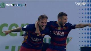 ملخص  مبارة ريال بيتيس و  برشلونة 0-2 الدوري الإسباني 30-4-2016