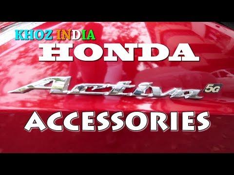 ALL GENUINE ACCESSORIES FOR HONDA ACTIVA 5G
