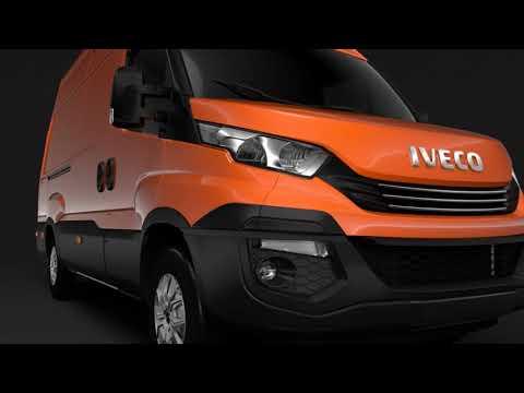 3D Model of Iveco Daily Van L3H3 2017