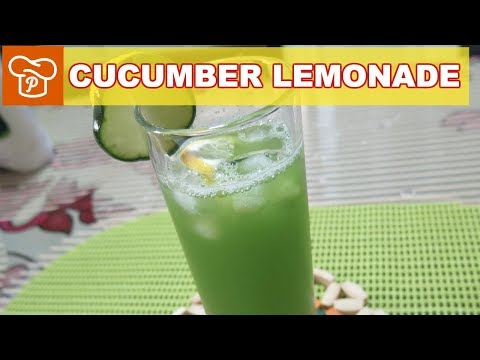 How to Make Cucumber Lemonade - Panlasang Pinoy Easy Recipes