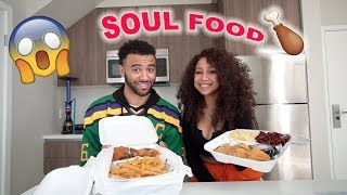 Soul Food Mukbang With My Ex : The Truth Of What Happened With Us..