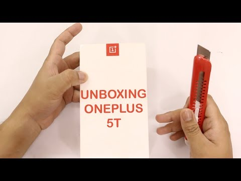 OnePlus 5T Unboxing and Hands On