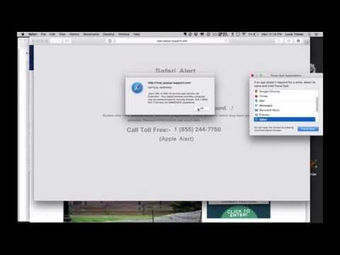 Popup Virus Solution Mac
