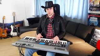 old town road, but played on my synth