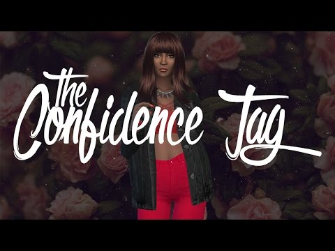 [THE SIMS 4] Create-A-Sim: The Confidence Tag! (Tag started by me!!!!)