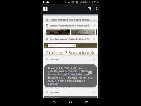 How to download torrent in mobile without any App.