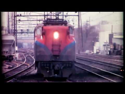 Amtrak and Conrail in Lancaster PA - Fall 1977