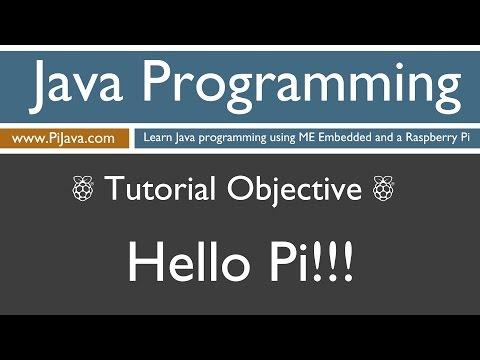 Java Programming on Raspberry Pi - Hello Pi!!!