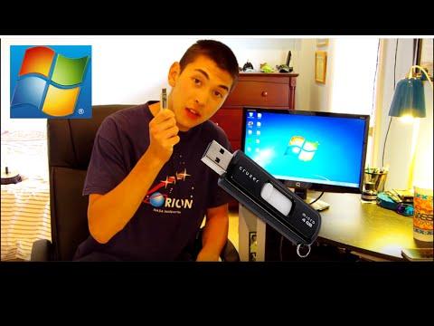 Install and Run Windows 7/8/10 Off a Live USB Flash Drive