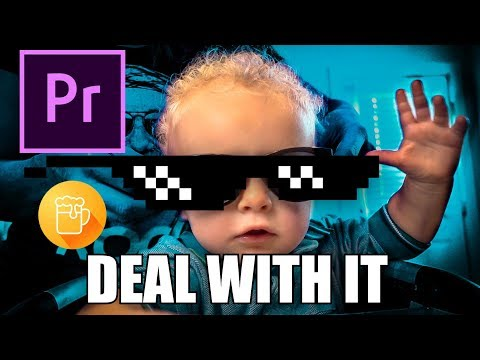 HOW TO MAKE an animated GIF in Premiere Pro and Gif Brewery - Meme Tutorial for DEAL WITH IT